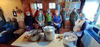 Héroes en Pandemia: Comedor solidario reparte 240 almuerzos a la semana en Melefquén