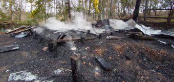 El abandono tuvo su costo: Dependencia del Casino Municipal fue destruida por el fuego