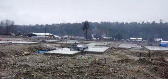 Suspenden obras de proyecto habitacional en Neltume por diversas irregularidades