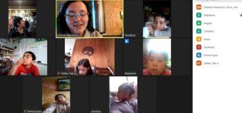 Escuela Pampa Ñancul adapta clases virtuales agradeciendo respaldo de apoderados