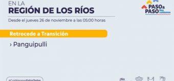 """Cámara de comercio en Panguipulli cataloga como """"mala noticia"""" retroceso a Fase 2"""