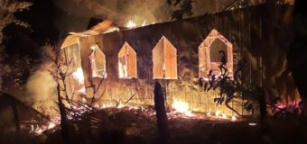 "Párroco por incendio de capilla en Anhuaraque: ""Vamos a hacer esfuerzos para reconstruir"""