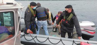 Armada de Panguipulli auxilió a kayakistas durante el eclipse