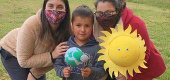 Escuela Pampa Ñancul recibió donación de Lentes Eclipse para entregar a comunidad educativa