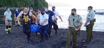 Joven padre se ahogó al salvar a su hijo en playa de Coñaripe