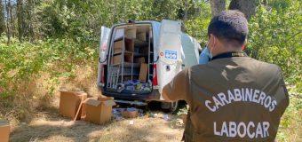 Detienen a conductor involucrado en robo a Chile Tabacos en Panguipulli