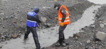 Entregan antecedentes sobre el desvío de cause glaciar al Consejo de Defensa del Estado