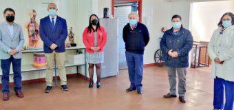 Concejal Pablo Sandoval felicitó al Liceo Padre Sigisfredo, tras la adjudicación de proyecto por casi $60 millones para sus estudiantes