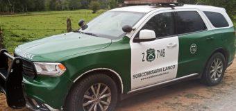 Detienen a sujeto por robo a Oficina de Agua Potable Rural en Melefquen