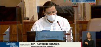 Diputado Rosas acusó baja efectividad de Sinovac y pide al Gobierno cambiar su «Plan de Vacunación»