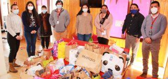 Gracias a campaña en iglesia, entregan ropa de invierno a niños y niñas del Fae Pro Panguipulli