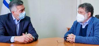 Alcalde de Panguipulli se reunió con Gobernador Regional de Los Ríos