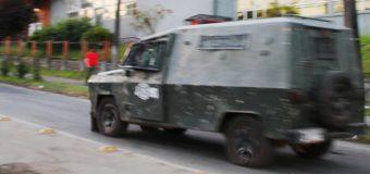 Manifestación por joven asesinada en Riñihue terminó con un detenido en Panguipulli