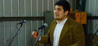 Joven dirigente de Choshuenco anunció precandidatura a Diputado