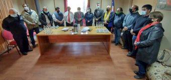 Gobierno Regional de Los Ríos anunció recursos para reposición del cuartel de Bomberos de Neltume