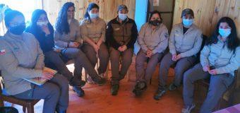 Mujeres guardaparque de la RN Mocho Choshuenco participan en importante encuentro latinoamericano