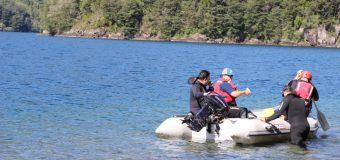 Bomberos activa Sistema Nacional de Operaciones para búsqueda en Lago Pellaifa
