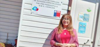 """Diana Betanzo retomó dirección del Fae Pro Panguipulli: """"Siempre estamos necesitando familias de acogida"""""""